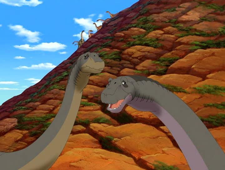 ����� �� ������ ������ 10: ������� �������� - The Land Before Time X: The Great Longneck Migration