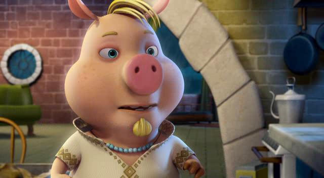 Изменчивые басни: 3 поросенка и ребенок - Unstable Fables: 3 Pigs $ a Baby