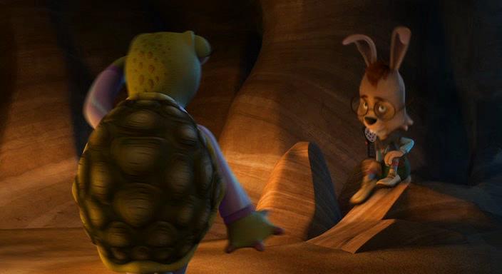 Изменчивые басни: Черепаха против зайца - Unstable Fables: Tortoise vs. Hare