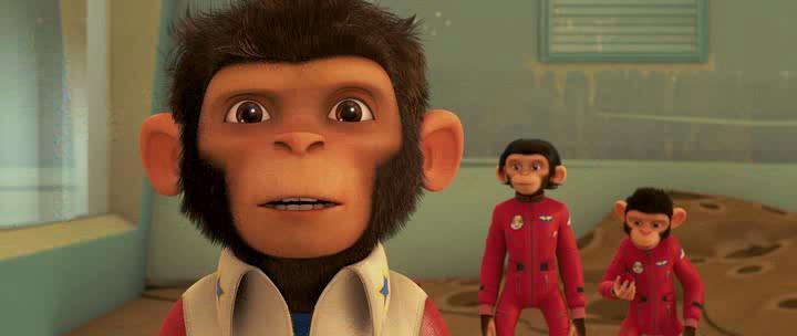 Мартышки в космосе - Space Chimps