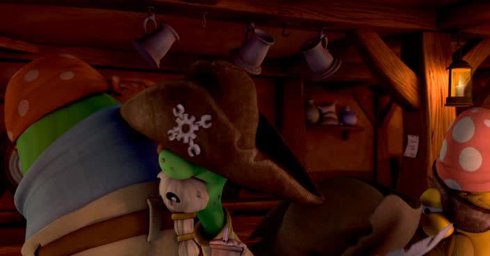 ����������� ������� � ������ ������ 2 - The Pirates Who Dont Do Anything: A VeggieTales Movie