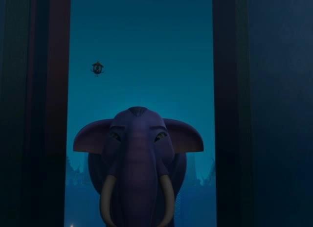 Голубой слоненок - The Blue Elephant