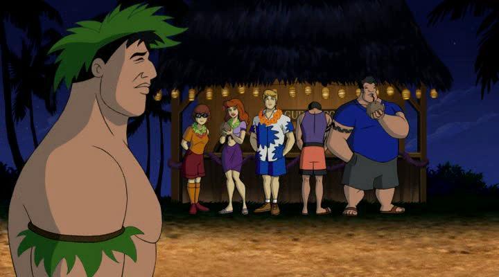 ������, �����-�� - Aloha, Scooby-Doo
