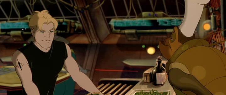 Титан. После гибели Земли - Titan A.E.