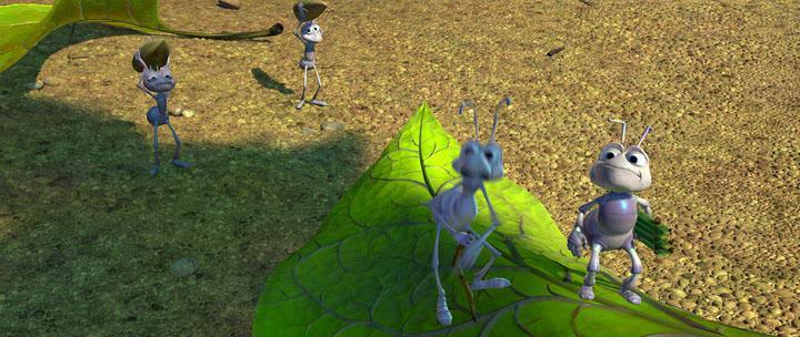 Приключения Флика - A Bugs Life