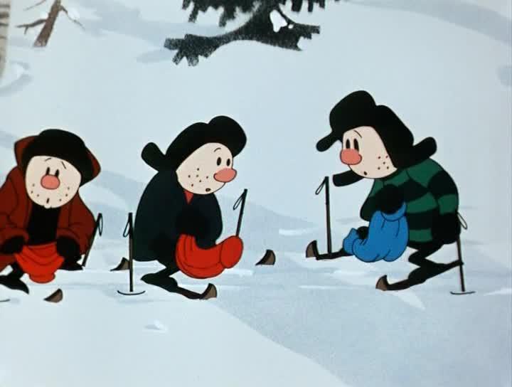 Снежные дорожки