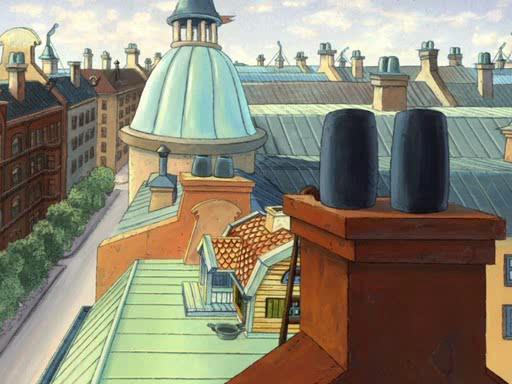 Карлсон, который живет на крыше - Karlsson pa taket