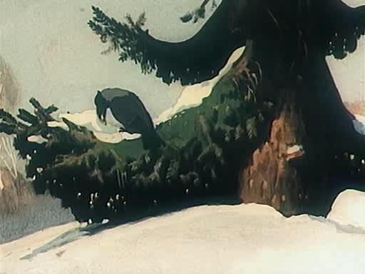 Ворона и лисица. Кукушка и петух - Vorona i Lisica. Kukushka i petuh