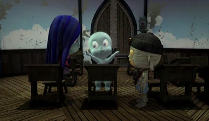 Каспер: Школа страха - (Casper's Scare School)