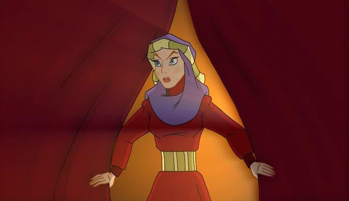 Вольга и султанова жена