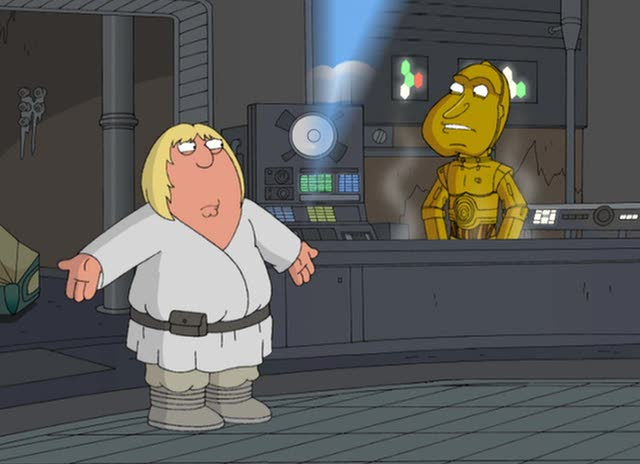 ��������. ������� ������ - Family Guy Presents Blue Harvest