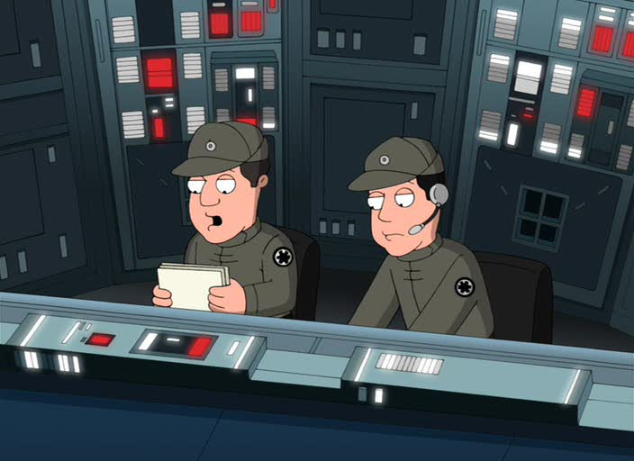 Гриффины: Там, там на тёмной стороне - Family Guy Presents: Something, Something, Something, Dark Side