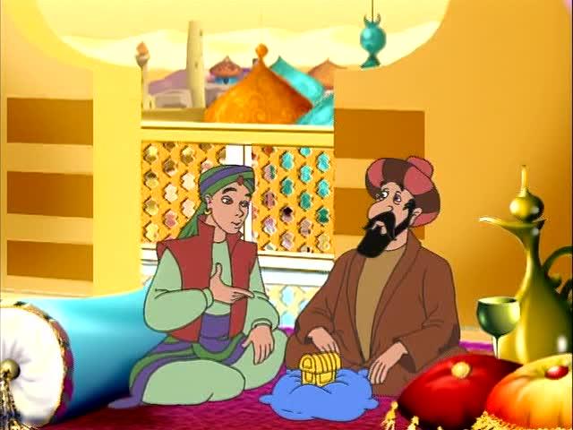 Волшебное путешествие Синдбада - The Fantastic Voyages of Sinbad the Sailor