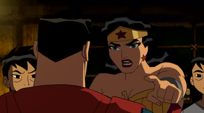���� ��������������: ����� ������ - Justice League: The New Frontier