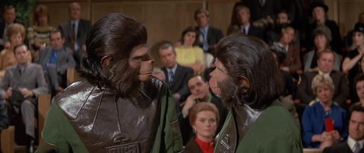 Бегство с планеты обезьян - Escape from the Planet of the Apes