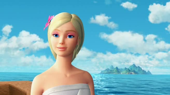 ����� � ���� ��������� ������� - Barbie as the Island Princess