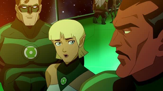 Зеленый Фонарь: Изумрудные рыцари - Green Lantern: Emerald Knights