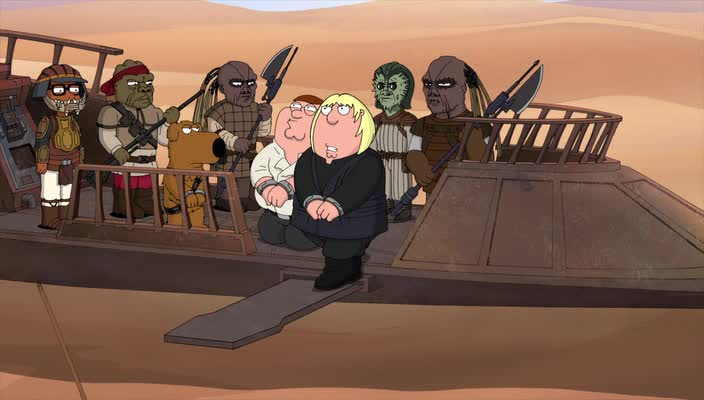 ��������: ��� ������� - Family Guy Presents: Its a Trap