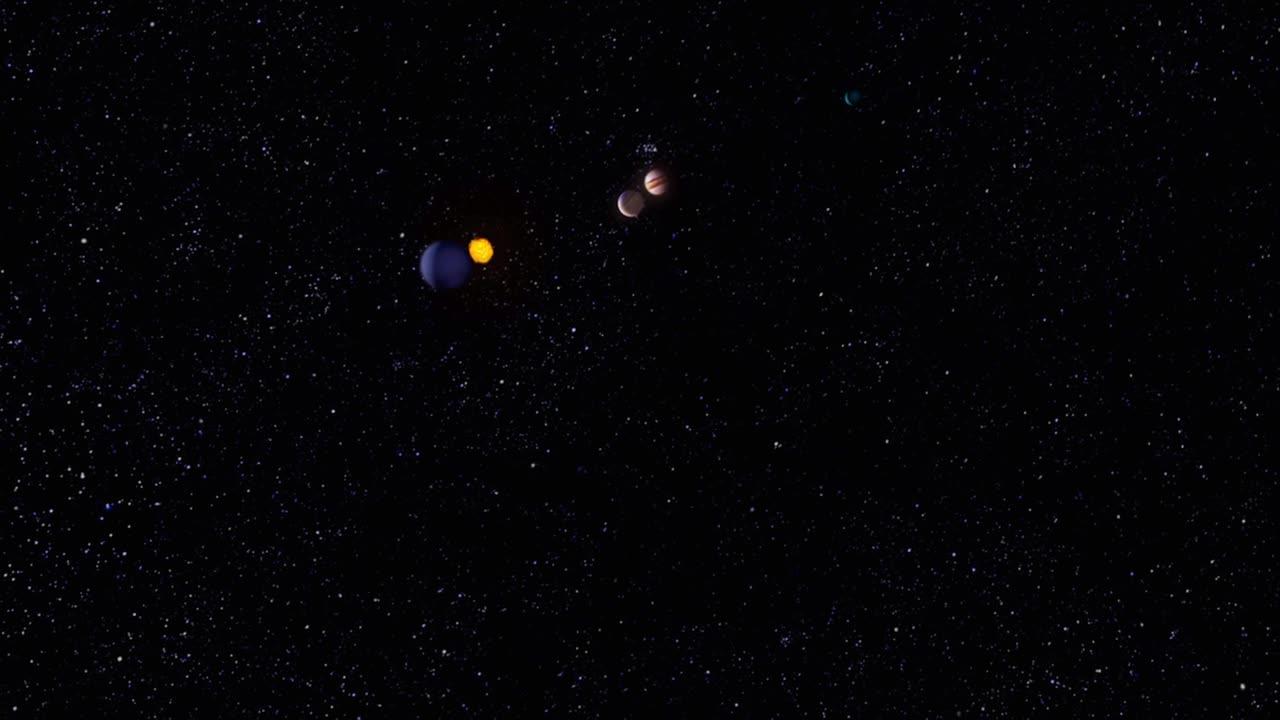 Вселенная. Семь чудес Солнечной системы - The Universe. 7 Wonders of The Solar System