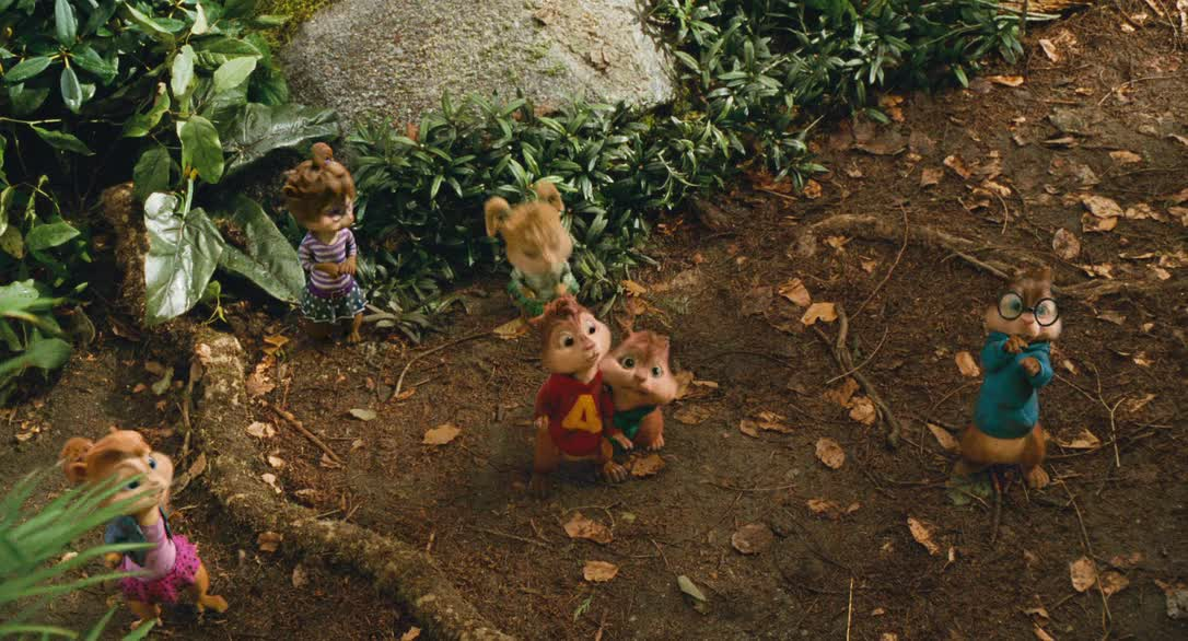 Элвин и бурундуки 3 - Alvin and the Chipmunks: Chip-Wrecked