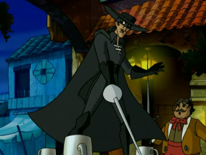 Маска Зорро - The Amazing Zorro