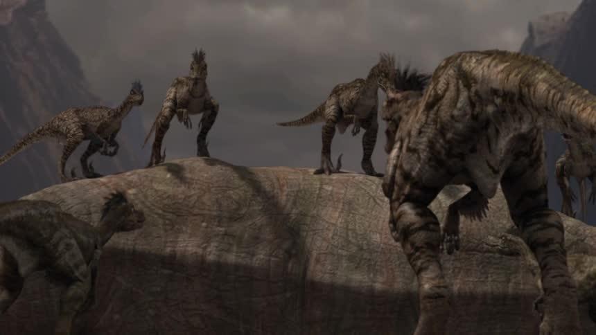 Тарбозавр 3D - Jeombaki: Hanbandoeui Gongryong 3D