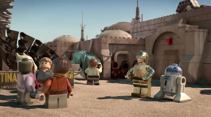 ���� �������� �����: ����������� ������ - (Lego Star Wars: The Padawan Menace)
