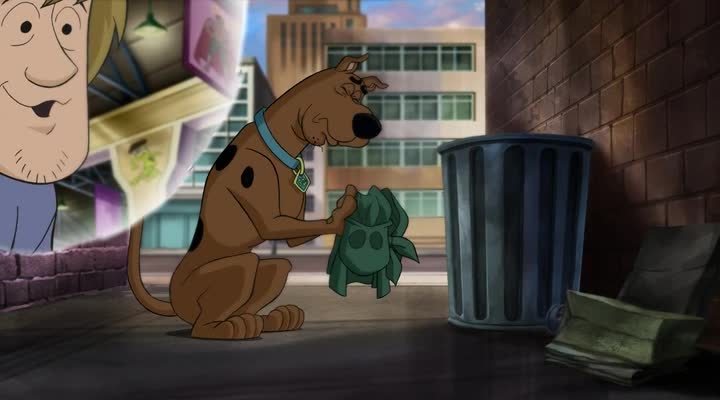 �����-��! ����� ������ ������ - Scooby-Doo! Mask of the Blue Falcon