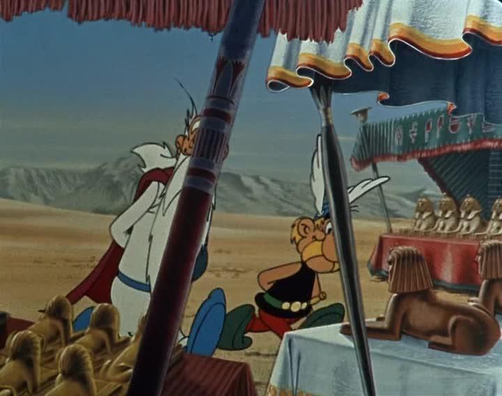 �������� � ��������� - Astérix et Cléopâtre