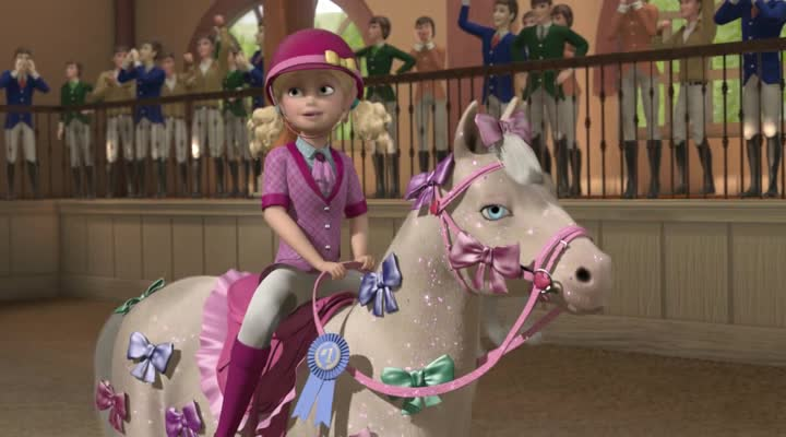 ����� � �� ������ � ������ � ���� - Barbie & Her Sisters in A Pony Tale