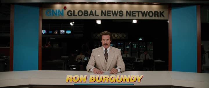 Телеведущий: И снова здравствуйте - Anchorman- The Legend Continues