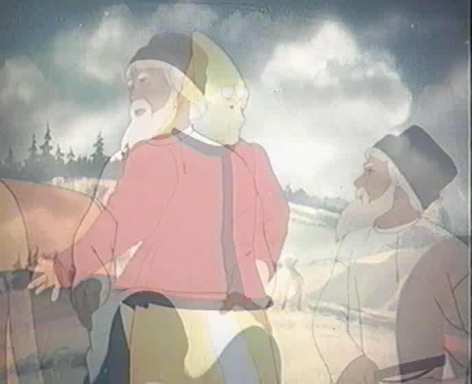 Сказка о рыбаке и рыбке - Skazka o rybake i rybke
