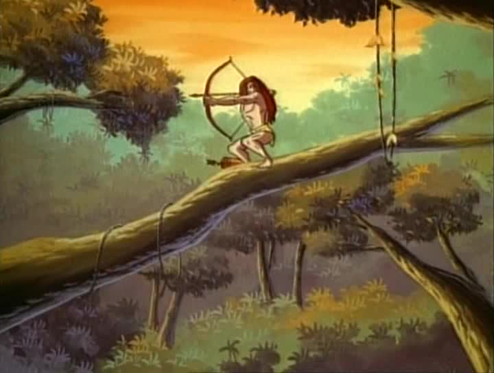 Тарзан повелитель обезьян - Tarzan of the Apes
