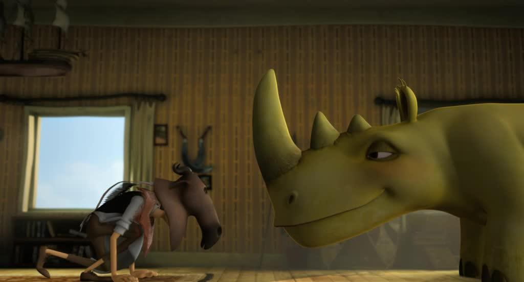 Носорог Отто - Otto er et nasehorn