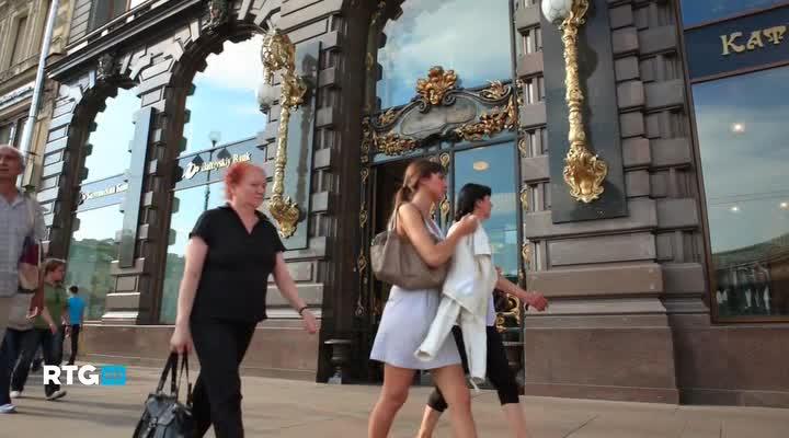 Санкт-Петербург. Прогулка по городу белых ночей
