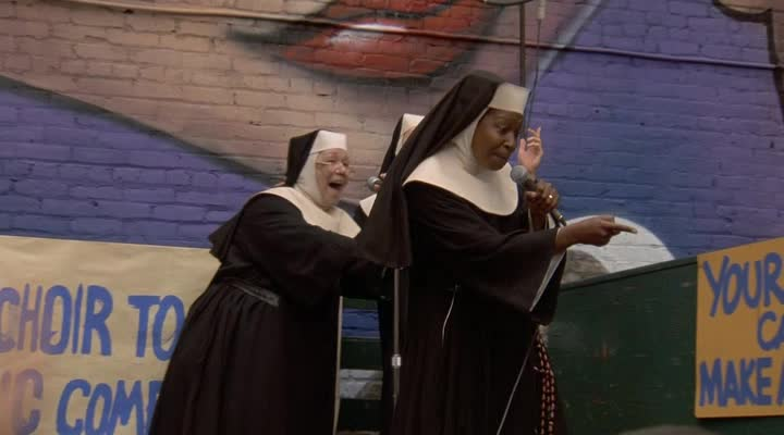 Сестричка, действуй 2 - Sister Act 2: Back in the Habit