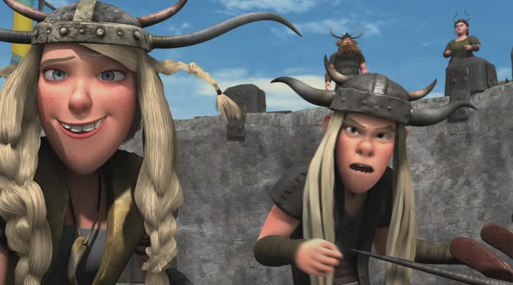 Драконы: Гонки бесстрашных. Начало - Dragons- Dawn of the Dragon Racers