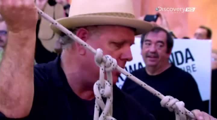 Discovery: Человек над Большим Каньоном. Ник о своем рекорде - Sky Wire