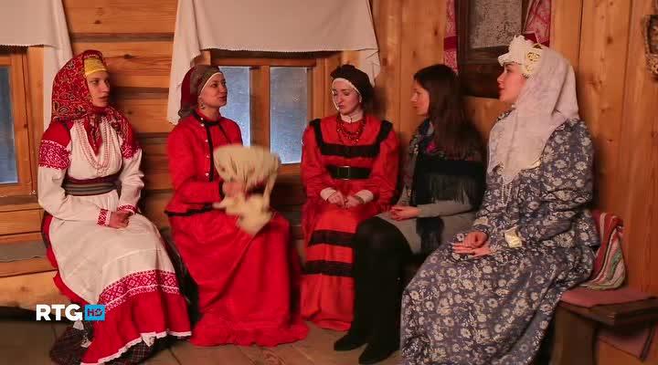 Святки в деревне Шуваловка