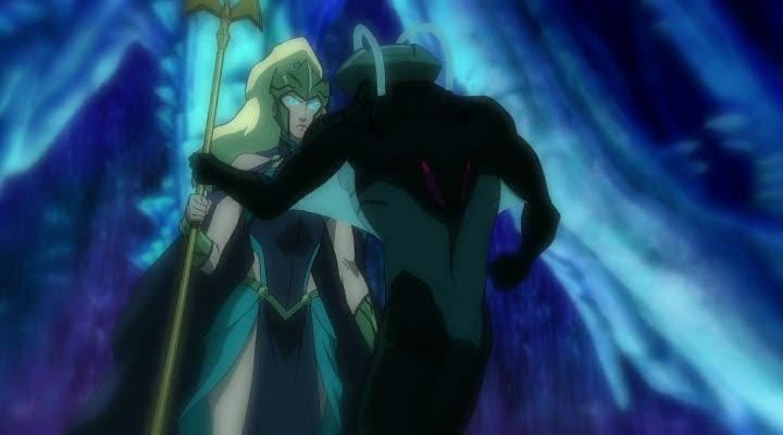 Лига Справедливости: Трон Атлантиды - Justice League- Throne of Atlantis
