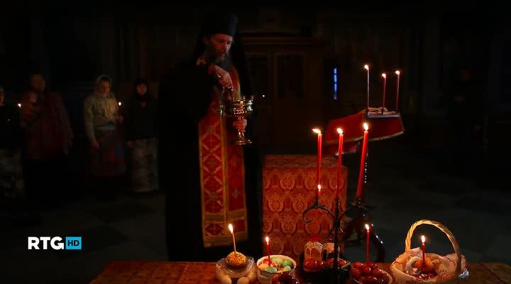 Пасха в Валаамском мужском монастыре