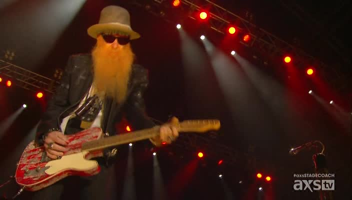 ZZ Top - Stagecoach. California's Country Music Festival