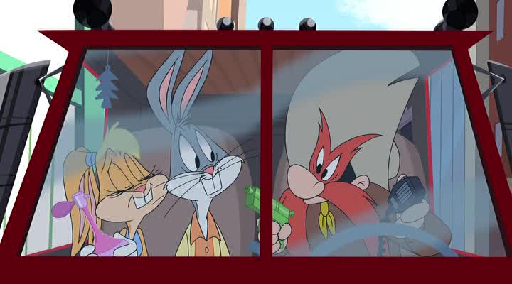 Луни Тюнз: Кролик в бегах - Looney Tunes- Rabbits Run