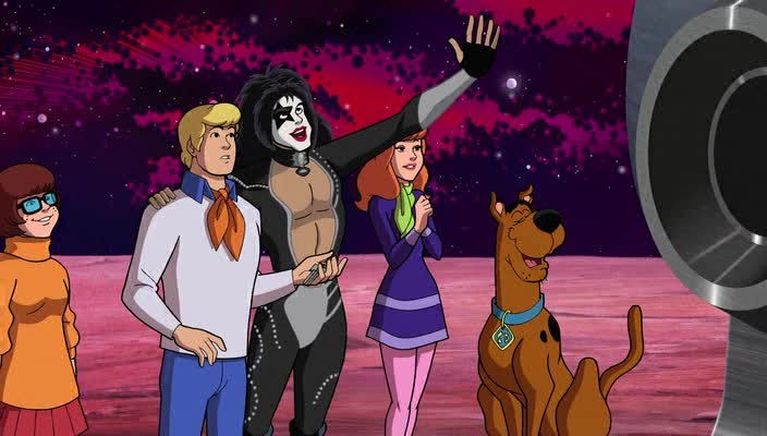 �����-�� � KISS: ����� ���-�-����� - Scooby-Doo! And Kiss- Rock and Roll Mystery