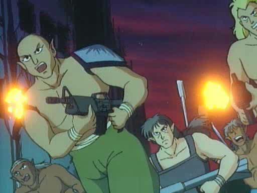 ������������ 4: ����� ����������� - Chojin densetsu Urotsukidoji: Horo hen