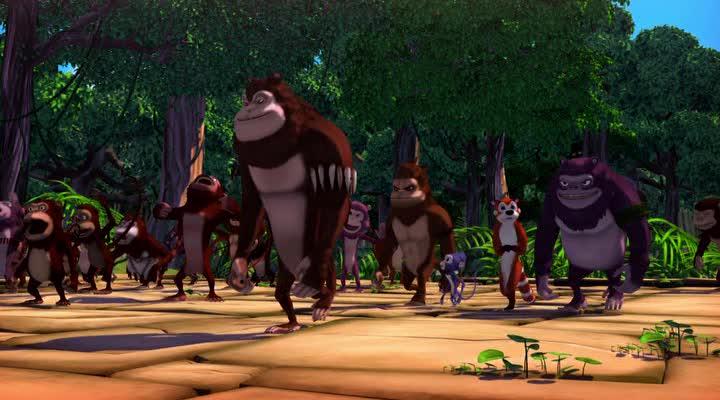 ��������� � �������� - Jungle Shuffle