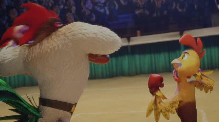 ������ ���� - Un gallo con muchos huevos