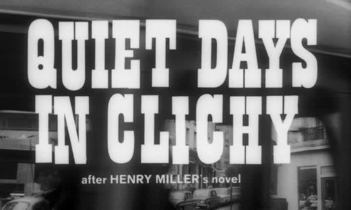 Тихие дни в Клиши - Stille dage i Clichy