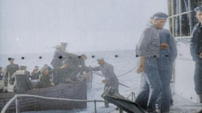������ ������� � �����: ������� ������ - World War I in color: Killers of the Sea