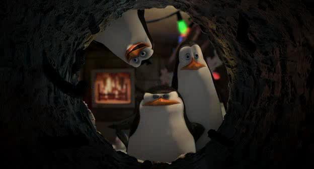 Пингвины из Мадагаскара - The Madagascar Penguins in: A Christmas Caper